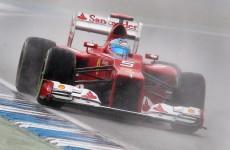 Dominant Alonso takes Hockenheim pole