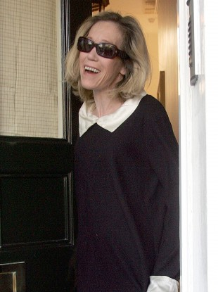 Eva Rausing pictured at her London home in 2008.