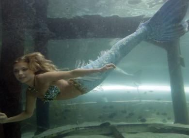 'Hanna the mermaid' at the Mermaid Lag