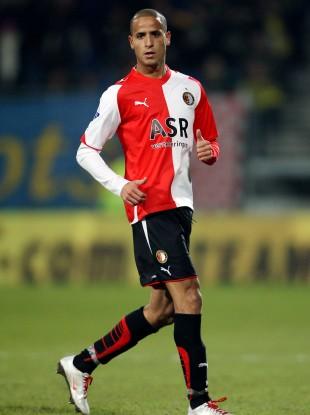 El Ahmadi playing for Feyenoord.