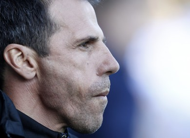 Zola previously managed West Ham.