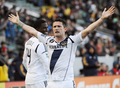 Robbie Keane scored against Ben Olsen's DC United in March of this year.