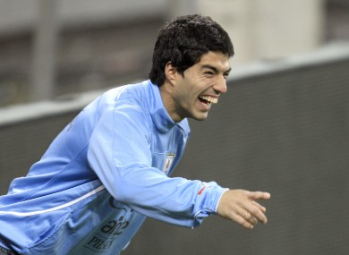 Luis Suarez is in line to face the Great Britain team in August.