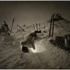 Winter quarters in Queen Mary Land, taken during the Australasian Antarctic Expedition of 1911-1914. (Image: Frank Hurley)