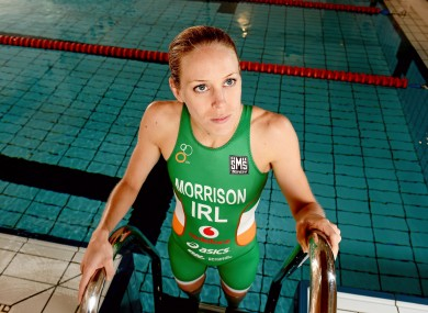 Morrison's coach admitted she was not at her best.