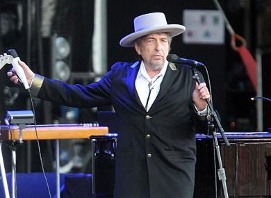 File photo of Bob Dylan