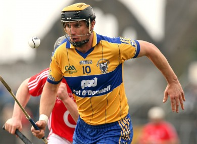 Griffin playing for Clare in 2009.