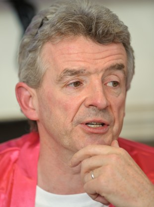 Michael O'Leary at a recent photocall in London