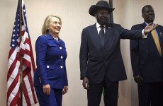 Hillary Clinton hopes for improved drones to find Kony