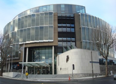 The Criminal Courts of Justice in Dublin (File)