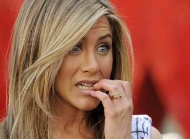 Jennifer Aniston, pictured finally finding happiness