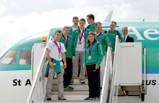 VIDEO: Ireland welcomes home its Olympians
