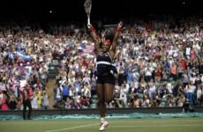 Serena Williams wins women's tennis final in style