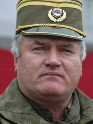 Former Bosnian Serb general Ratko Mladic.
