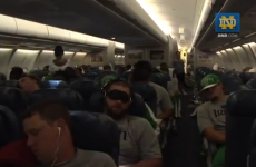 The Irish hit Ireland: Notre Dame's footballers touch down in Dublin