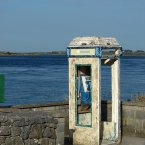 Photo: Mark Waters Flickr/CreativeCommons  The kiosk is in disrepair but the phone itself is still working.