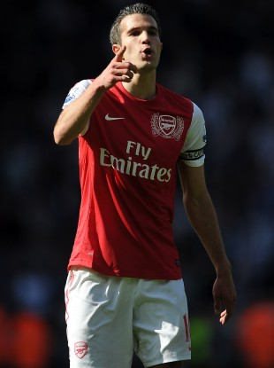 RVP: linked with move to Manchester United.