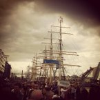 A great sepia-toned photo of the festival by reader Brendan Rowan.