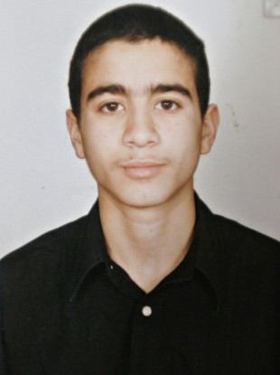 Undated photo of Omar Khadr as a teenager