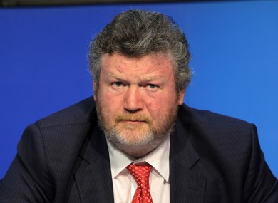 James Reilly has been under pressure since the latest round of HSE cutbacks were announced last week.