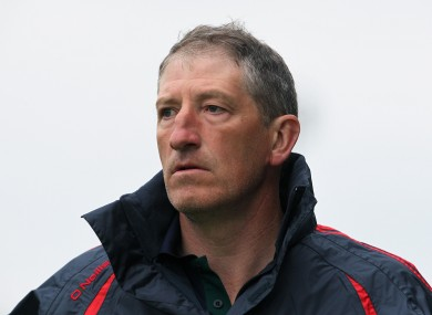 Kevin Ryan managed Carlow this year.