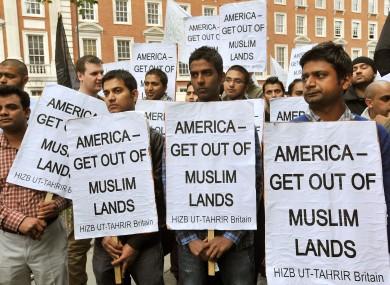 Картинки по запросу мусульманские протесты в США