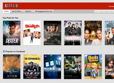 netflix to add rt201 series to online catalogue this weekend