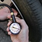 Several in TheJournal.ie HQ have noted that some garages are now using coin-operated inflation devices. So much for putting air in your tyres for free. Is nothing sacred, etc.? (AP Photo/Robert F. Bukaty)