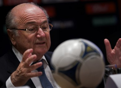 There's Sepp gazing into his crystal ball.