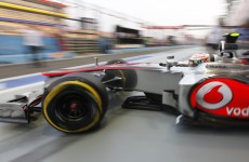 Hamilton on pole for Singapore Grand Prix