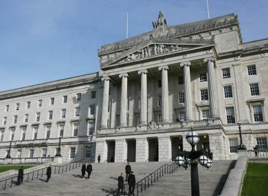 MLAs will debate asking Ireland for a formal apology for the Troubles at Stormont (pictured) today.