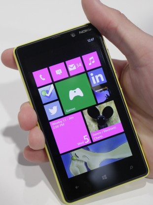 Nokia's smartphone, the Lumia 820