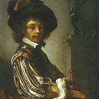 This self-portrait by Frans Van Mieris, a painting also known as A Cavalier, was stolen from the Art Gallery of New South Wales on June 10, 2007 and is worth more than €770,000. (Image: FBI)