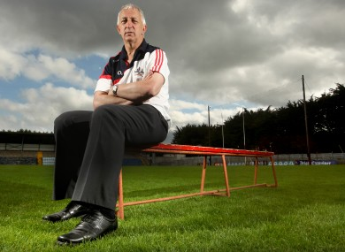 Cork manager Conor Counihan.