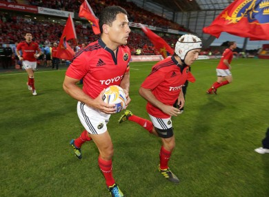 Doug Howlett will lead Munster out at the Aviva on Saturday evening.