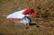 World record: Daredevil Felix Baumgartner skydives from 24.2 miles above Earth