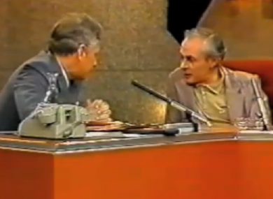 Gay Byrne interviewing RD Laing in 1985
