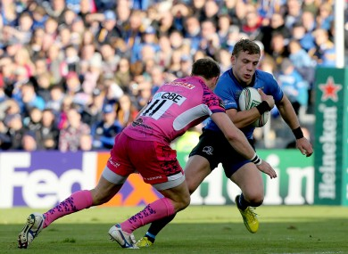 Ian Madigan in action against Exeter.