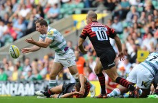 Green pastures: O'Leary and London Irish welcome league-leading Northampton Saints