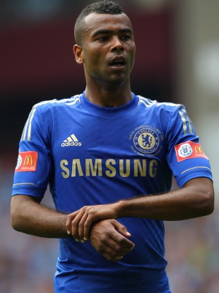 Sorry: Ashley Cole deleted the tweet after it was retweeted thousands of times.