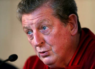 England manager Roy Hodgson during a Press Conference at St George's Park.