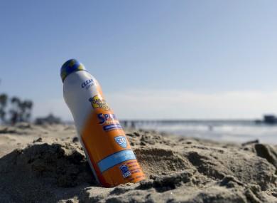 UltraMist spray-on sunscreen: don't use it.
