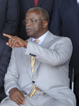 Ugandan prime minister Amama Mbabazi.