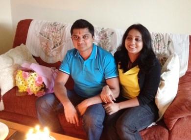 Praveen and Savita Halappanavar