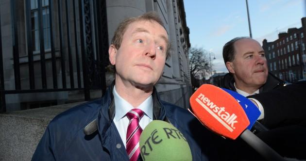 Pics: Taoiseach and Tánaiste arrive for crucial Cabinet meeting