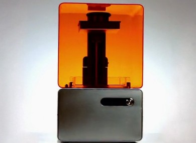 The Form-1 3D printer
