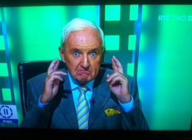 Bill O'Herlihy: fingers crossed he makes the top 21.