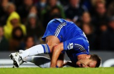 John Terry out for three weeks, says Di Matteo