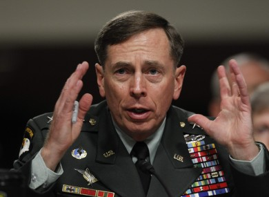 General David Petraeus has resigned as director of the CIA over the sex scandal which has implicated his successor as the head of international forces in Afghanistan.