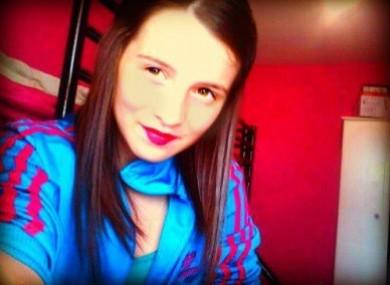 Erin Gallagher, who was found dead on Saturday